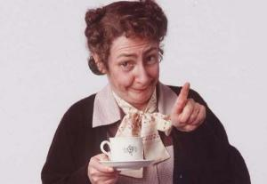 Ah go on, go on! Mrs Doyle herself is throwing a tea party today (so, get there FAST)