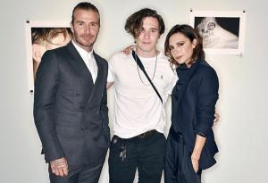 'So proud': Victoria and David Beckham gush over Brooklyn at his first photography exhibition