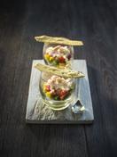 Irish crab, avocado & mango salad