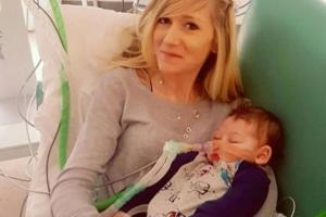 Connie Yates runs out of court as Charlie Gard's MRI scan makes for 'very sad reading'
