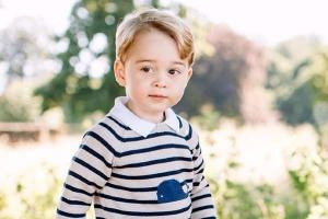 Prince Georges birthday portrait is here, and its ADORABLE