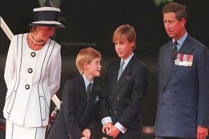 'I very much felt she was there for me': Windsor Princes set to unveil commemorative statue of Princess Diana