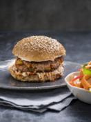 Cheat's chorizo burger