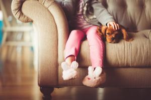 'Woman's best friend': A little girl's PET DOG saved her from being kidnapped