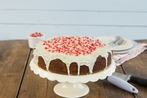 Quick cranberry and fig cake