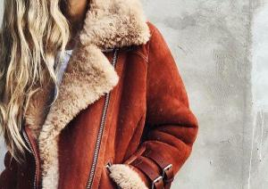 Shearling coats are this seasons hottest trend and were obsessed