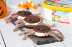 Spider ice cream sandwich