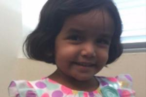 A body has been found in the search for missing toddler Sherin Mathews