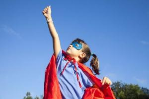 Only boys can be superheroes: Mum stunned by daughters Halloween costume remark