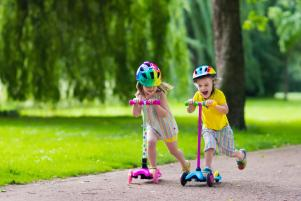 How can I encourage my toddler to be more active?