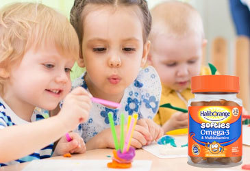 Our mums tried out Haliborange multivitamins with their little ones