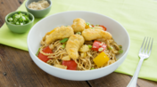 Sweet and sour Chicken Dipper noodles