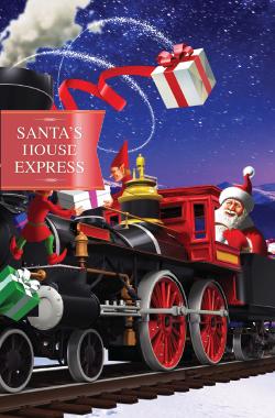 Win a VIP family pass to Santas House Express