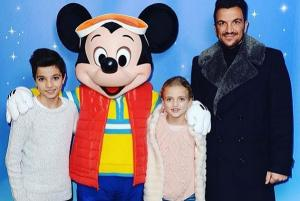 I am very strict: Peter Andre bans his children from social media