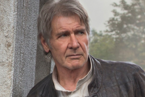 Always the hero: Harrison Ford rescues a woman from roadside accident