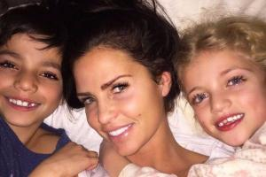 Katie Price shows off son Juniors voice after Cruz Beckhams singing video goes viral