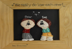 Win a €100 voucher for a personalised clay family portrait