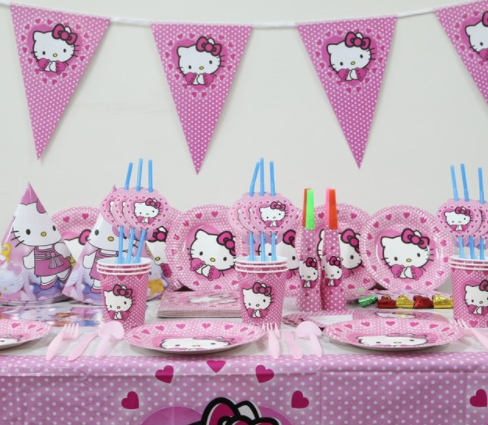 Hello Kitty Birthday Party Ideas Home Canas Bergdorfbib Co