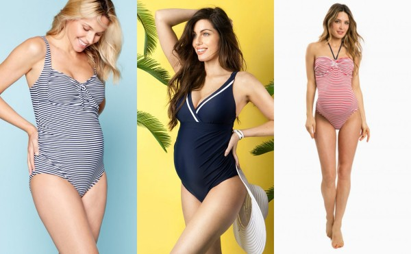 f0f9b04e8ec3b Summer is coming! 10 adorable bathing suits to wear during your pregnancy