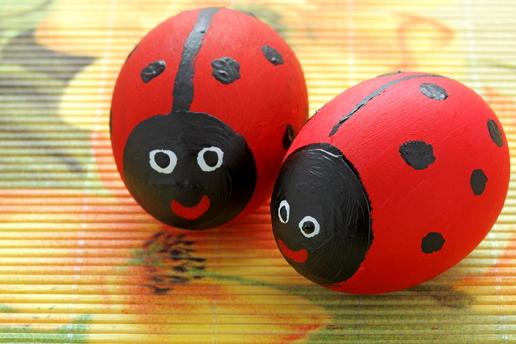 Ladybird Easter Egg