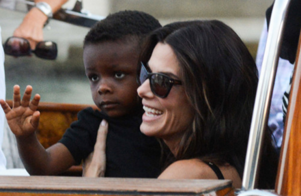 We love Sandra Bullock's powerful message about her kids
