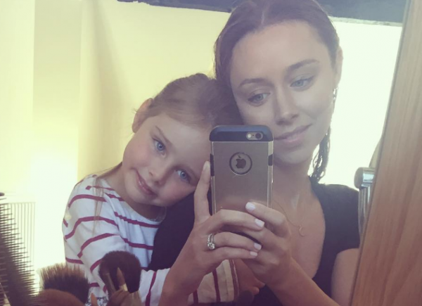 Una Healy shares adorable snap of her daughter's first day of